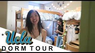 Download College Dorm Tour at UCLA // Sunset Village, Plaza Triple Private Bath, Courtside Video