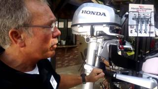 Download Honda Marine BF4, BF5 and BF6 outboards Video