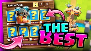 Download BEST ELITE BARBARIAN DECK • Clash Royale • NEW RECORD! 5200+ Video