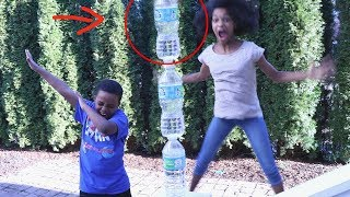 Download WATER BOTTLE FLIP CHALLENGE! - Onyx Adventures Video