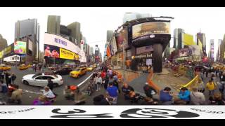 Download USA Newyork Streets and Times Square 360 VR Video Panorama Video