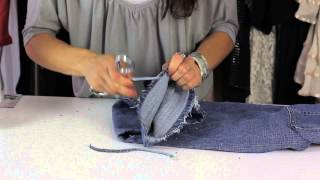 Download How Do I Fray the Edges of My Jeans? : Style Savvy Video