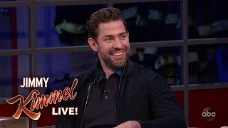 Download John Krasinski on Casting Wife Emily Blunt in A Quiet Place Video