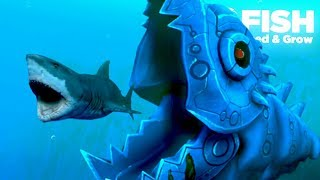 Download NEW MECHA KILLER FISH!!! - Fish Feed Grow | Ep 22 Video
