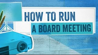 Download Startup Boards: How To Run a Board Meeting Video