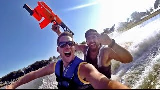 Download Nerf Blasters: Lake House Edition | Dude Perfect Video