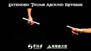Download 【Penspinning Tutorial】6.Extended Thumb Around Reverse Video