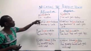 "Download Swahili Grammar: The tense ""me"" with ""mesha"" Video"