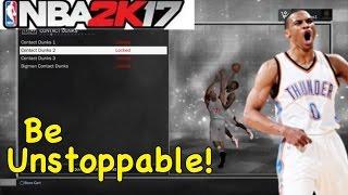 Download NBA 2K17 MyPLAYER CREATION | OP SLASHER BUILD!! UNSTOPPABLE DUNKS!! Video