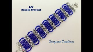 Download Bicone Seed Beads Bracelet Video