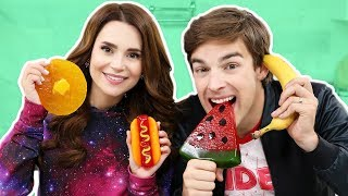 Download GUMMY FOOD vs REAL FOOD - PART 2! Video