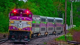 Download MBTA HYUNDAI ROTEM SET ON THE HAVERHILL LINE!!!! AMAZING CATCH!!!! Video