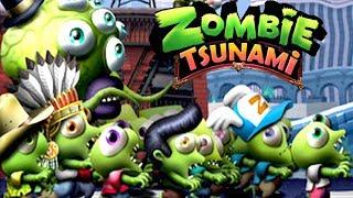 Download ZOMBIE TSUNAMIi #2 Мультик игра для детей ПРО ЗОМБИ развлекательный детский мультик для малышей Video