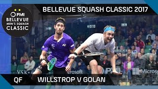 Download Squash: Willstrop v Golan - Bellevue Squash Classic 2017 QF Highlights Video