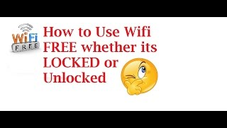 Download How to Get Free wifi Anytime anywhere Video