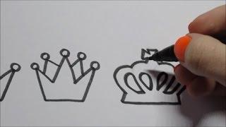 Download Koningsdag Kroon leren tekenen! (In stappen) Video