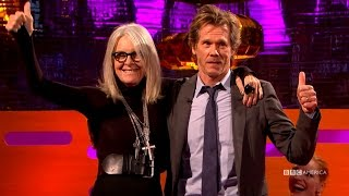 Download Kevin Bacon Always Wanted To Kiss Diane Keaton - The Graham Norton Show Video
