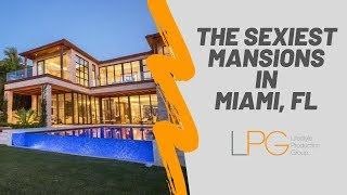 Download Tour Some of the SEXIEST Mansions Miami Florida Has to Offer Video