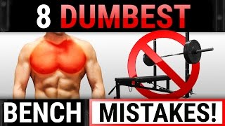 Download 8 Dumbest Bench Mistakes Sabotaging Your Chest Growth! | STOP DOING THESE! Video