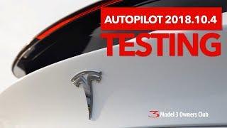 Download Autopilot 2018.10.4 vs 2018.6.1 Testing Video