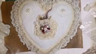 Download Elegant Heart-shaped Pin Cushion Tutorial - jennings644 Video