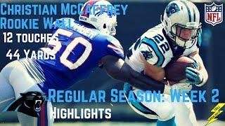 Download Christian McCaffrey Week 2 Regular Season Highlights Rookie Wall | 9/17/2017 Video