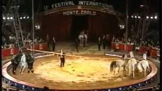 Download Geraldine Knie Zirkusprinzessin Ungarische Post 17. Circusfestival Monte Carlo 1993 Video