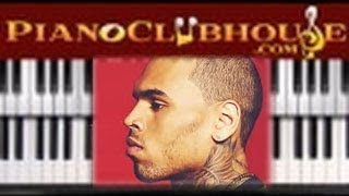 Download ♫ How to play ″FINE CHINA″ by Chris Brown (easy piano lesson FULL TUTORIAL) Video