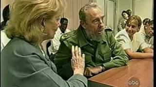 Download 20/20 Fidel Castro interview - Barbara Walters [6of6] Video