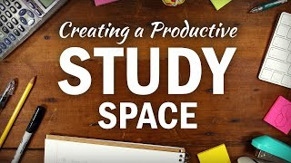 Download How to Create an Organized, Productive Study Space Video