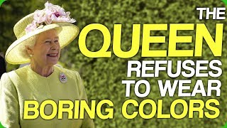 Download The Queen Refuses to Wear Boring Colors Video