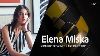 Download Live Graphic Design with Elena Miska - Day 3/3 Video