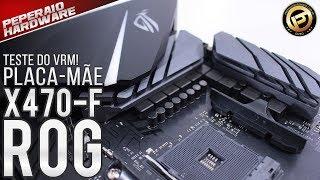 Download Review placa mãe ROG X470-F Gaming - Testes R5 2600x e R7 2700x OC / RAM 3400 Mhz / Análise VRM FLIR Video