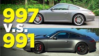 Download Porsche 911: The 991 vs 997 Video