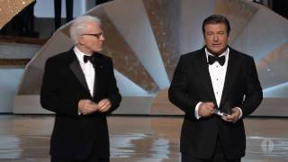 Download Steve Martin and Alec Baldwin's Opening Monologue: 2010 Oscars Video