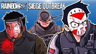 Download Rainbow Six: Siege - ZOMBIE OUTBREAK! (3 Player Co-op) Video