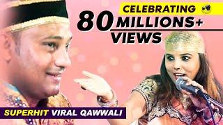 Download हमे तो लूट लिया मिल के हुस्न वालो ने | Imran Warsi Qawwal | Just Qawwali | Mumbai Video
