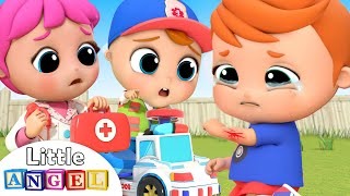 Download Doctor is Here to Help | Boo Boo Song | Little Angel Kids Songs &Nursery Rhymes Video