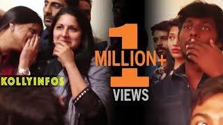 Download Sangeetha Vijay | Priya Atlee Celebrate Bhairava FDFS with fans Video