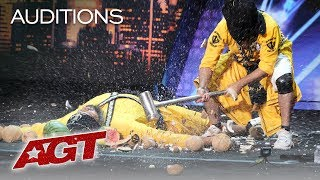 Download This Danger Act From India Will SCARE You With A SMASH! - America's Got Talent 2019 Video