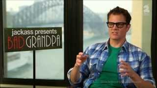 Download Johnny Knoxville ″Broken Penis″ Australian Tv interview & Bad Grandpa #realjknoxville Video