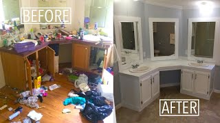 Download 5 minute house flip | Double Wide Mobile Home | Before & After Video