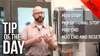 Download How to Stop Your Program With an M-Code – Haas Automation Tip of the Day Video