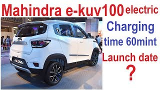 Download Mahindra e-KUV100 electric car price in India || Mahindra e-KUV100 electric car review in Hindi. Video