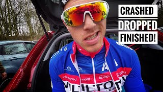 Download I CRASHED, GOT DROPPED AND STILL FINISHED! Ronde van zuid holland 2018 - #cycling Video