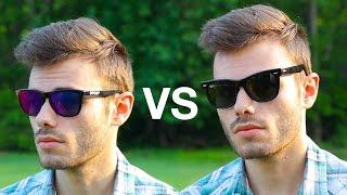 Download Ray-Ban Wayfarer vs Oakley Frogskins Video
