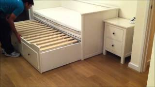 Download IKEA Hemnes Day-bed Trundle Guest Bed, Stolmen Storage Design - Before & After. Video