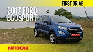 Download 2017 Ford EcoSport Petrol | First Drive | Autocar India Video