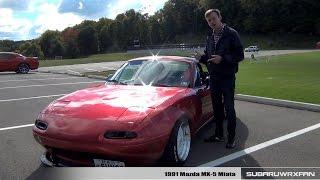 Download Review: Modified 1991 Mazda MX-5 Miata Video