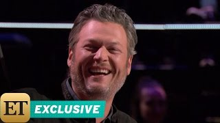 Download EXCLUSIVE: Blake Shelton Can't Stop Making Gwen Stefani Giggle During 'The Voice' Blind Auditions Video